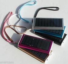 1350mAh Energia Solare Bank, Batteria caricabatterie. Varie colori. KM-PB3