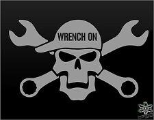 MECHANIC vinyl decal sticker Funny TRUCK Window Rig Mack Peterbilt Diesel Truck