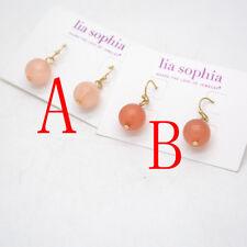 Lia sophia jewelry cute drop hoop earrings ball pendant dangle