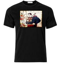 Roy Lichtenstein Superman - Graphic Cotton T Shirt Short & Long Sleeve