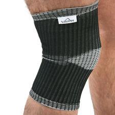 Vulkan Unisex Advanced Elastic Knee Support Black Sports Gym Outdoors Running