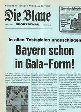 BL 81/82  FC Bayern München-Bayer 04 Leverkusen (Blaue)