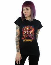 Marvel Women's Avengers Infinity War Movie Poster T-Shirt