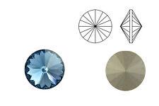 Swarovski Crystals® Rivoli (1122) denim blue, SS39 - 8 mm | Menge wählbar (6, 10