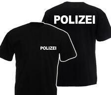 POLIZEI SECURITY T-Shirt Sicherheitsdienst Ordner Police SWAT Sicherheit TOP PR