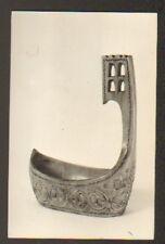 COUPE en bois sculpté de RUSSIE (carte postale)