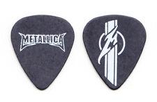Metallica Black Racing Stripe Guitar Pick - 2004 Tour