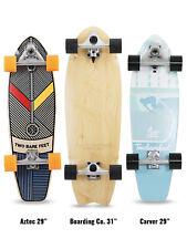 """Two Bare Feet Complete Carving Cruiser Surfskate Skateboards 29"""" / 31"""" TBF Skate"""