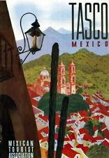 83969 Vintage Tasco Mexico Mexican Travel Decor WALL PRINT POSTER FR