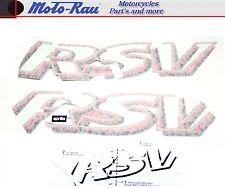 Aprilia rsv mille 2000 autocollant sticker dekorsatz aufklebersatz DECOR hot red