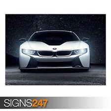 BMW i8 AERO Vorsteiner (9226) foto fotografia stampa poster art a0 a1 a2 a3 a4