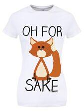 Oh For Fox Sake Women's White T-shirt