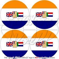 AFRIQUE DU SUD ANCIEN Pare-choc Casque Vinyle Stickers Autocollants x4