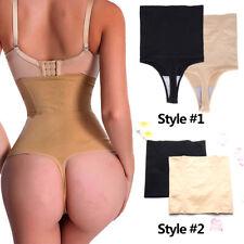 Women Body Shaper High Waist Trainer Tummy Control Slimming Thong Shapewear Slim