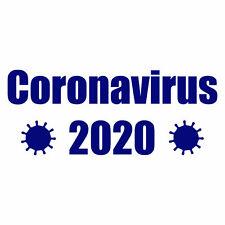 Corona 2020 Sticker Vinyl Decal 3-020