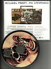 MICHAEL FRANTI & SPEARHEAD Everyone Deserves Music w/ RARE EDIT PROMO CD Single