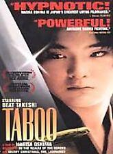 Taboo DVD 1999 Drama, Gay/LGBT, Japanese, Beat Takeshi Kitano, Ryuhei Matsuda, S