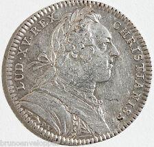 JETON EN ARGENT - LOUIS XV - TRESOR ROYAL - 1751 - 7,2 g