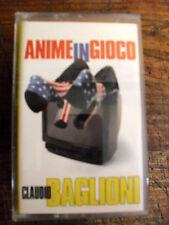 """CLAUDIO BAGLIONI  """"ANIME IN GIOCO""""    MC"""