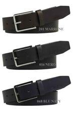 Cintura-Belt CALVIN KLEIN K50K504238 3.5CM NEW ESSENTIAL - marrone/nero/blu