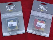 Paradenti singolo Everlast Taglia unica Sacco Box, Kick Boxe, MMA, Rugby, calcio