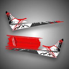 2016 - 2019 POLARIS PRO AXYS RMK Graphics Decal Sticker Wrap Tunnel Kit 155 163
