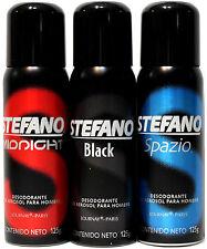 STEFANO Deodorant In Aerosol Spray 4.5 Oz Desodorante Para Hombre Estefano 125g