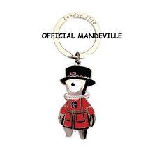 LONDON 2012 OLYMPICS MASCOTS KEYRING OFFICIAL SOUVENIR GIFT MANDEVILLE WENLOCK