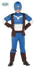 GUIRCA Costume vestito Capitan America supereroe carnevale bambino mod. 8840_