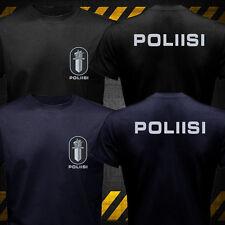 New Nordic Finland Finnish Police Poliisi Polis Swat Logo T-shirt