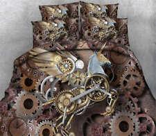 Obsolete Gear Rack 3D Printing Duvet Quilt Doona Covers Pillow Case Bedding Sets