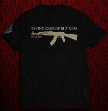 Kalaschnikow - Taking care of Business - T-Shirt, Rotlicht, schwarz