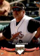 2007 Tucson Sidewinders Multi-Ad #1 Bill Plummer Manager Baseball Card