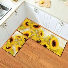 Summer Sunflowers Bedroom Area Rugs Kitchen Carpets Living Room Floor Mat Decor
