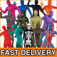 Bodysuit Skinz Fancy Dress Skin Lycra Body Suit Mens Adult Halloween Costume