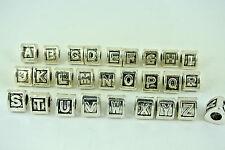 Alphabet Letters for European Charm Bracelets