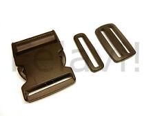Steckschnallen 50 mm - Schlaufen 50 mm - Doppelschlaufen 50 mm 1 bis 20 Stück