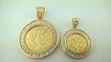 Centenario Coin 50 Pesos Mexico Set Regular size and small size With Necklaces