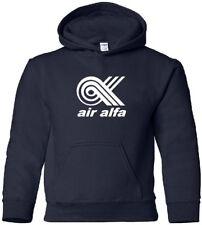 Air Alfa Retro Logo Turkish Airline HOODY