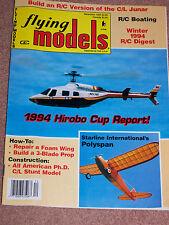 Flying Models Magazine December 1994