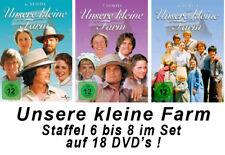 18 DVDs * UNSERE KLEINE FARM  ~ SEASON / STAFFEL 6 - 8 # NEU OVP +