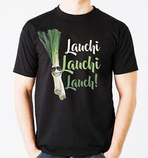 T-Shirt LAUCHI LAUCHI LAUCH vegan Diät Gemüse gesund lustiger Spruch Siviwonder