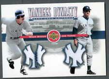 Wade Boggs-Joe Torre 2002 Yankees Dynasty Dual Jersey