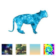Cougar Panther Tiger - Vinyl Decal Sticker - Multiple Patterns & Sizes - ebn2853