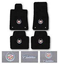 4pc Carpet Floor Mat Set for 2011-2017 Cadillac CTS - Choose Logo & Color