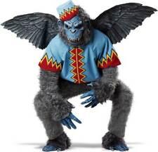 Land Of Oz Flying Winged Monkey Ape Gorilla Chimp Animal Adult Costume Unisex