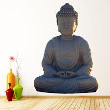Window Hindu Sticker Buddha with Clear Background 14cm x 17.8cm