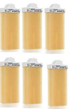 6 cartouches épilation roll on mini tête courte pour bandes moins larges  100 ml