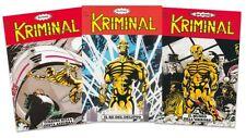 KRIMINAL Mini serie 1/3 a tiratura LIMITATISSIMA - fumetti neri