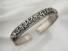 Omamori Honzon 8 Buddhist Sanskrit Bangle [Silver] Selectable 8 kinds